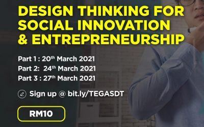 Design Thinking for Social Innovation and Entrepreneurship Workshop