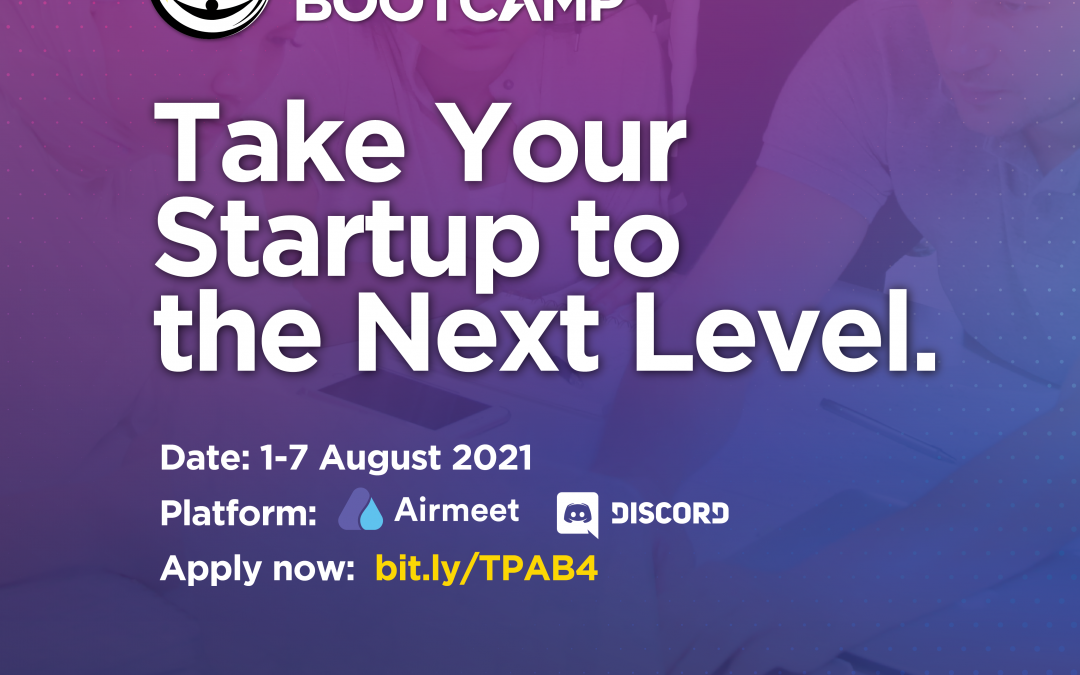 TEGAS Pre-Accelerator Bootcamp 2021 is Calling for Applications